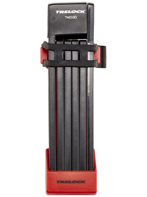 Trelock FS 200 TWO.GO L Faltschloss 100 cm rot
